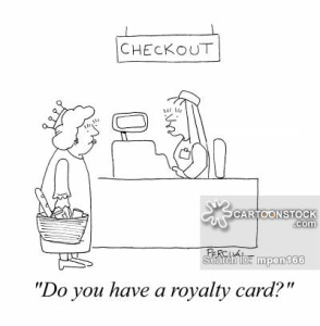 'Do you have a royalty card?'